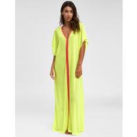 Pitusa Inca Abaya Dress - Lemon