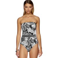 Jets Jets Tranquillity Bandeau Swimsuit - Black/White
