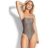 Seafolly Spirit Animal Tube Swimsuit - Reflex Blue
