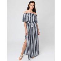 Pia Rossini Pia Rossini Sovana Maxi Dress - Black/White