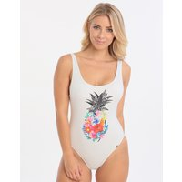 Banana Moon Pinacola Borage One Piece - White