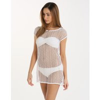 Banana Moon Shoshone Melena Mini Dress - White