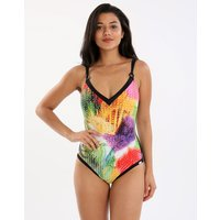 Charmline Colour Dunes Underwired One Piece - Multi