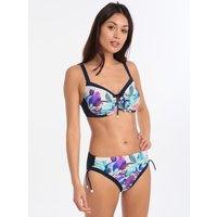 Charmline Charmline Grand Hibiscus Bikini - Navy