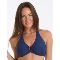 Heidi Klein Core Textured D-G U Bar Top - Navy