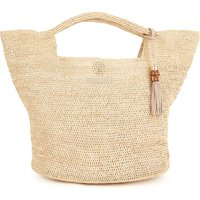 Heidi Klein Grace Bay Raffia Bucket Bag - Natural