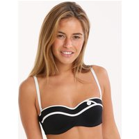 Huit Huit Coming Soon Padded Strapless Bra - Black