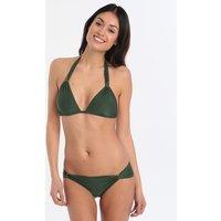 Lenny Niemeyer Lenny Niemeyer Emerald Adjustable Accessory Halter Bikini - Green