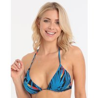 Lepel Lepel Malibu Triangle Bikini Top - Navy