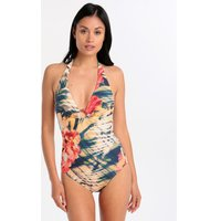 Maryan Mehlhorn Fusion Halter One Piece - Hibiscus