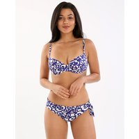 Rocaille UW Adjustable Bikini - Iris - Size 16 D Cup Blue