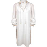 Maryan Mehlhorn Maryan Mehlhorn Signature Shirt Dress - Soft White