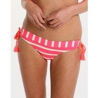 Phax Phax Maracas Bay Brazilian Back Loop Tie Pant - Pink