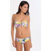 Roidal Flor Lila Ariadna UW Twist Moulded Cup Bikini - Floral