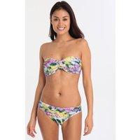Roidal Flor Lila Ivet UW Bandeau Bikini - Floral