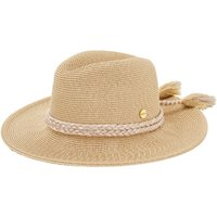Seafolly Shady Lady Collapsible Fedora - Gold