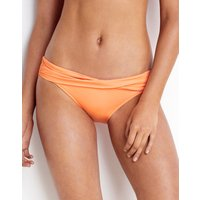 Seafolly Twist Band Hipster - Neon Mango