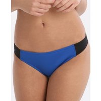 Stella McCartney Swim Iconic Colour Block Classic Pant - Black and Blue