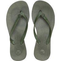 ViX Solid Flip Flop - Military
