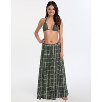 ViX ViX Tortuga Ivory Long Skirt - Green