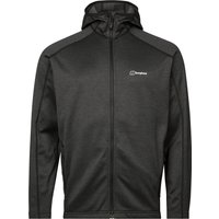 Berghaus Mens Spitzer Hooded Jacket - Jet Black Carbon