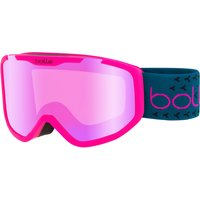 Bolle Kids Rocket Plus Ski Goggle - Matte Pink/ Blue with Rose Gold Lens