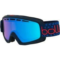 Bolle Nova II Ski Goggle - Matte Navy/Red with Photochromic Vermillon Blue Lens
