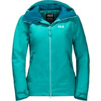 Jack Wolfskin Womens Exolight Peak Jacket - Aquamarine
