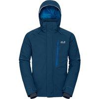 Jack Wolfskin Mens Exolight Icy Ski Jacket - Poseidon Blue