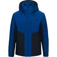 Peak Performance Mens Maroon Race Ski Jacket - Island Blue