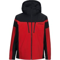 Peak Performance Mens Lanzo Ski Jacket - Dyna Red