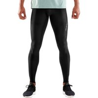 Skins Mens DNAmic Long Tights - Black Black