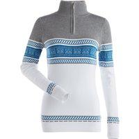 Nils Womens Terri Sweater - White Steel