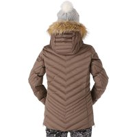 Nils Womens Brienne Faux Fur Ski Jacket - Bronze