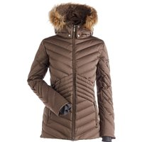 Nils Womens Brienne Faux Fur Ski Jacket - Bronze
