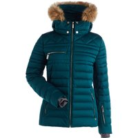 Nils Womens Arya Faux Fur Ski Jacket - Emerald