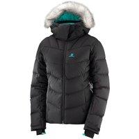 Salomon Womens Icetown Ski Jacket - Black