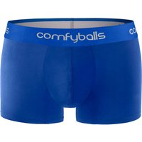 Comfyballs Mens Cotton Regular Boxer - All Blue