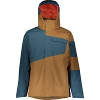 Scott Mens Ultimate Dryo 30 Jacket - Nightfall Blue Tabacco