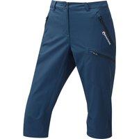 Montane Womens Dyno Stretch Capri Trousers - Narwhal Blue