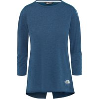The North Face Womens Inlux Three Quarter Sleeve Top - Blue Wing Teal