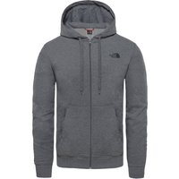 The North Face Mens Open Gate Full Zip Lightweight Hoodie - TNF Medium Grey