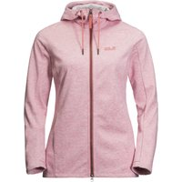 Jack Wolfskin Womens Riverland Hooded Jacket - Rose Quartz