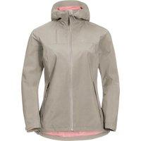 Jack Wolfskin Womens JWP Shell Jacket - Dusty Grey