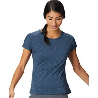 Mountain Hardwear Womens Mighty Stripe T Shirt - Zinc