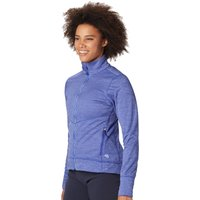 Mountain Hardwear Womens Norse Peak Full Zip Jacket - Blue Print