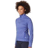Mountain Hardwear Womens Norse Peak Full Zip Jacket - Blue Print