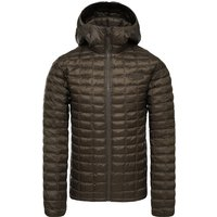 The North Face Mens ThermoBall Eco Hoodie Jacket - New Taupe Green Matte
