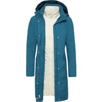 The North Face Womens Suzanne Triclimate Trench Coat - Blue Coral
