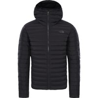 The North Face Mens Stretch Down Hoodie Jacket - TNF Black